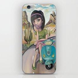 Lost road iPhone Skin