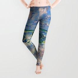 """Claude Monet """"La vague"""" Leggings"""