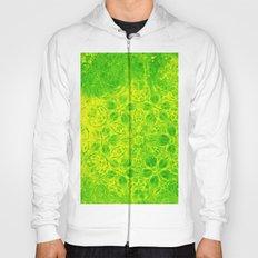 Grunge green kaleidoscope Hoody