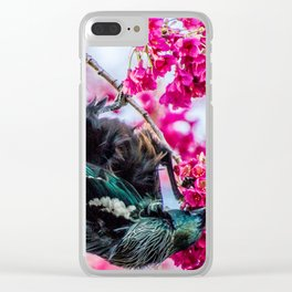 Tui time Clear iPhone Case