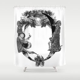 Les Enfants Shower Curtain