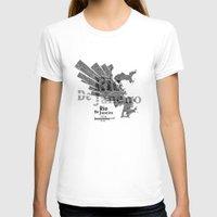 rio de janeiro T-shirts featuring Rio De Janeiro Map by Shirt Urbanization
