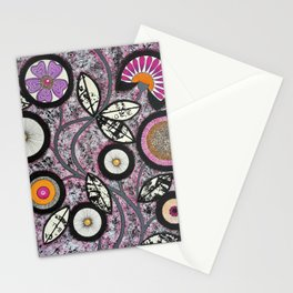 Lovely Flowers Pink Stationery Cards