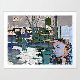 Waiting 2 Art Print