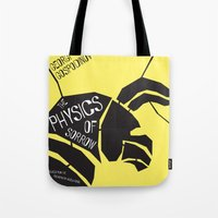 physics Tote Bags featuring The Physics of Sorrow by Open Letter Books