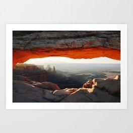 Mesa Arch at Canyonlands National Park Art Print