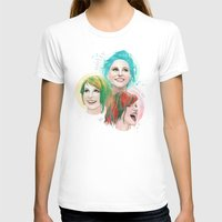 hayley williams T-shirts featuring Hayley Electric Hair by ●•VINCE•●