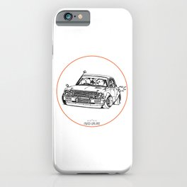 Crazy Car Art 0224 iPhone Case