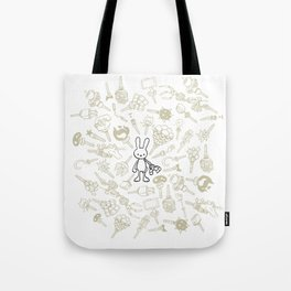 minima - beta bunny / gear Tote Bag
