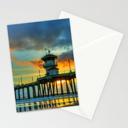 Dramatic Sunset Stationery Cards