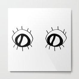 Eyez Metal Print