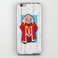 dungeons and dragons iPhone & iPod Skins featuring DUNGEONS & DRAGONS - DUNGEON MASTER by Zorio