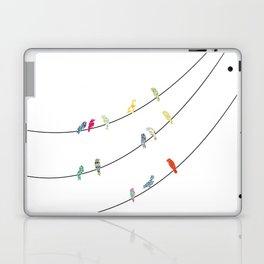 Bird on a wire Laptop & iPad Skin
