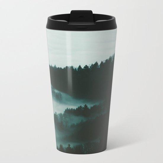 dark fog Metal Travel Mug