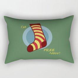 I'm free now! Rectangular Pillow