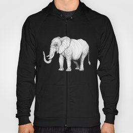 Lines of an Elephant Hoody
