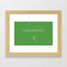 Game Point Framed Art Print