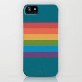 Indigo Rainbow iPhone Case