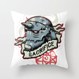 Alphonse Elric - The Alchemist Throw Pillow