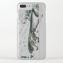 One Last Goodbye Clear iPhone Case