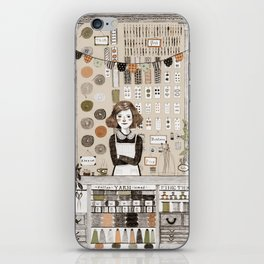 The Notions Shop iPhone Skin