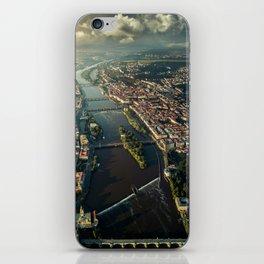 Above Prague, Czech Republic iPhone Skin
