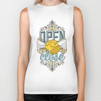 snape Biker Tanks featuring Harry Potter – I Open At The Close by Aaron Sales
