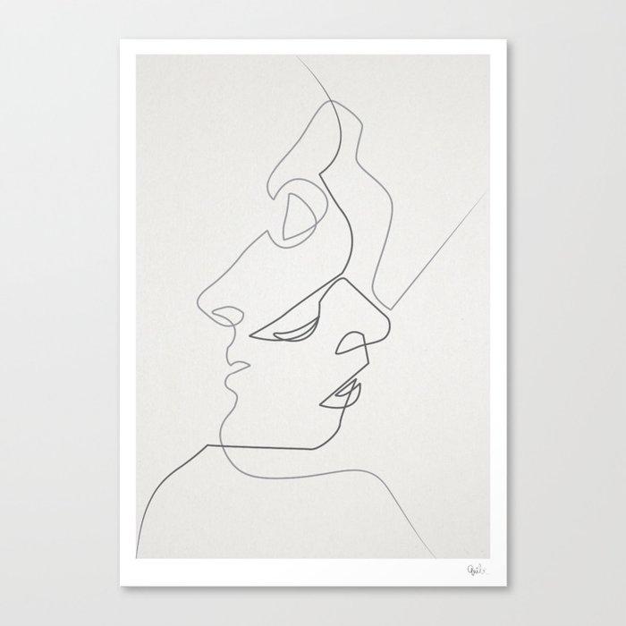 Close Canvas Print