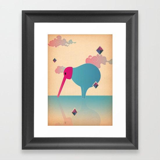 b e c c o Framed Art Print