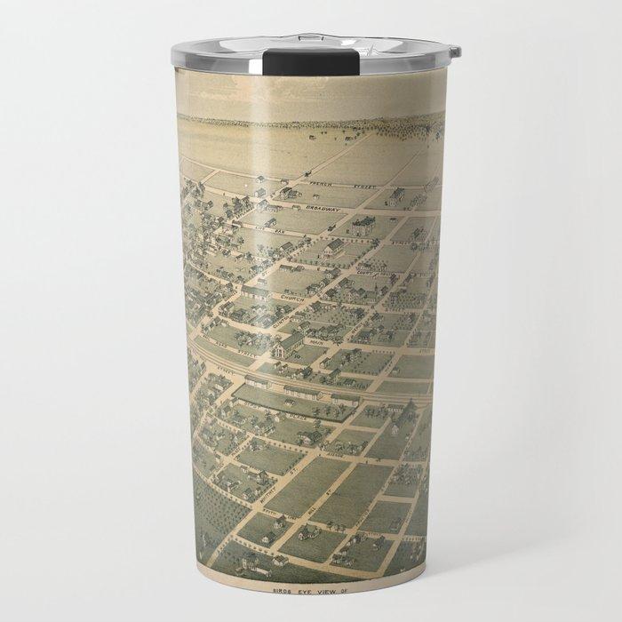 Cuero Texas 1881 Travel Mug