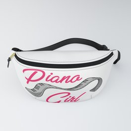 Piano Girl Fanny Pack