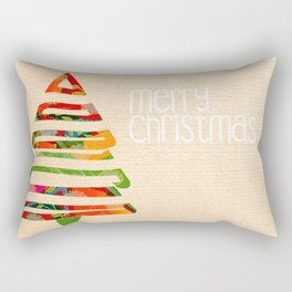 Boas Festas Rectangular Pillow