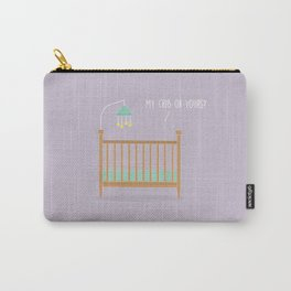 Mine or Yours? Carry-All Pouch