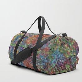 Le bras de Jeufosse, Autumn by Claude Monet Duffle Bag
