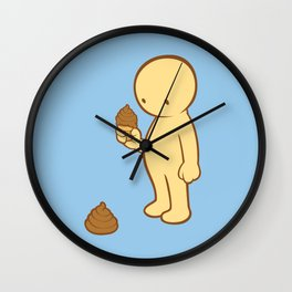 Chocolate Flavor  Wall Clock