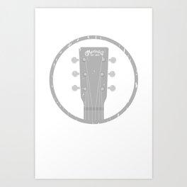 CF Martin Guitar Company Art Print