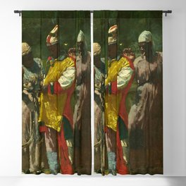 Winslow Homer's Dressing for the Carnival (1877) Blackout Curtain