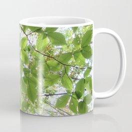 Green Leaves Elm Coffee Mug