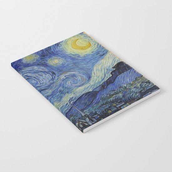 The Starry Night by Vincent van Gogh by constantchaos