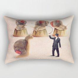 The snail tamer Rectangular Pillow