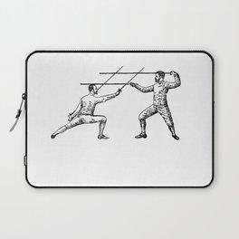 Dueling Hashtag Laptop Sleeve