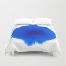 Blue splash Duvet Cover