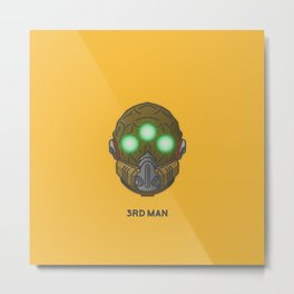 Loot#2 - Mask of the Third Man Metal Print