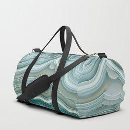 Agate Crystal Blue Duffle Bag