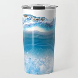 Agate blue Travel Mug