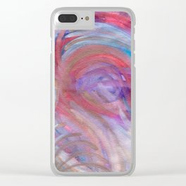 Cracking The Crown Clear iPhone Case