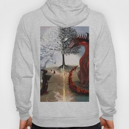 The Owl,Wizard,Unicorn and the Dragon Hoody