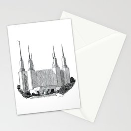 Washington DC LDS Temple Stationery Cards