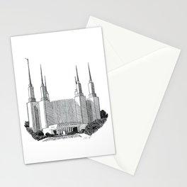 Washington DC LDS Temple Stationery Cards