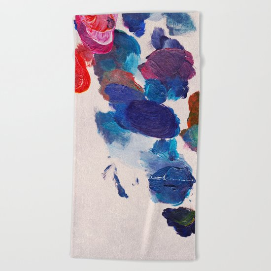 Painter's Palette Beach Towel